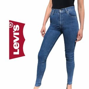 Levi's- Mile High Super Skinny Jeans